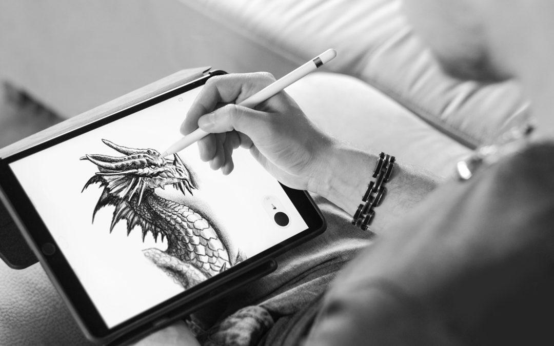Hogyan rajzoljunk sárkányt iPad Proval