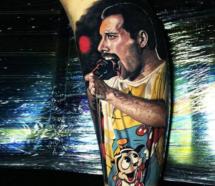Queen – Bohém rapszódia tetoválásban