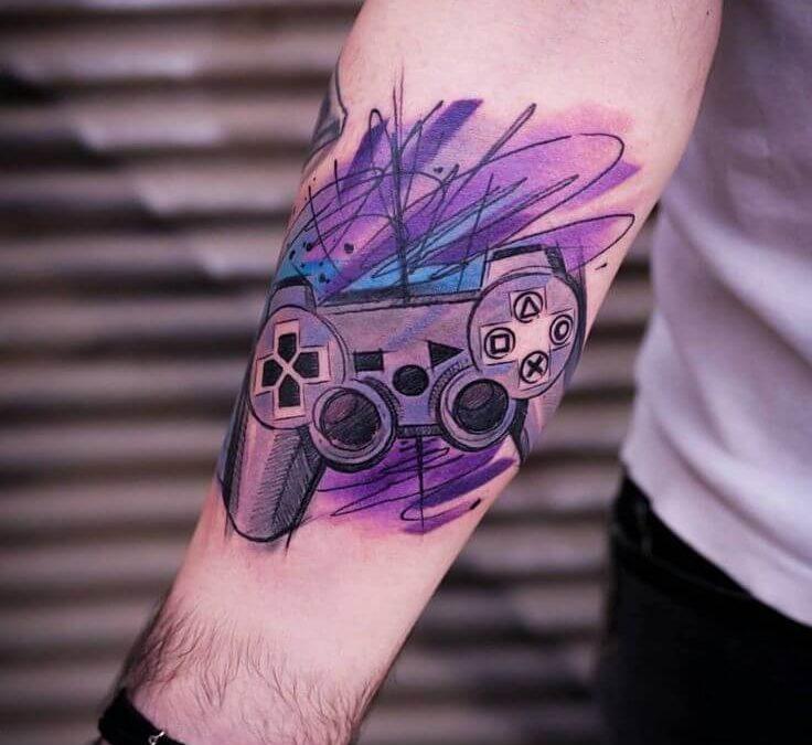 Gamer tetoválások