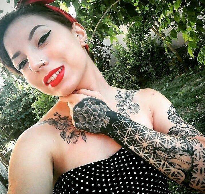 Georgina tetoválásai
