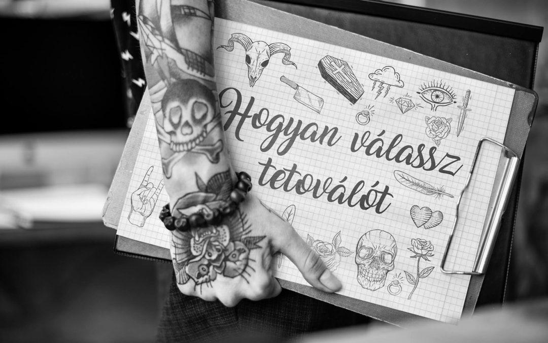 Hogyan válassz tetoválót
